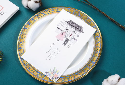 펜드로잉&일러스트 청첩장 v.01 청첩장 미리보기 1